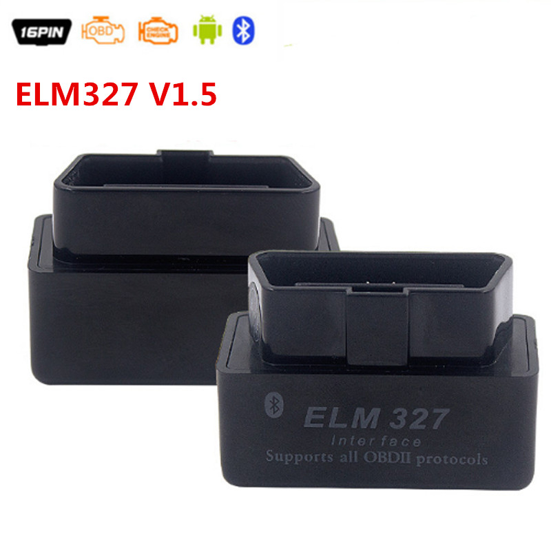 Mini OBD ELM327 Bluetooth Interface ELM327 V1.5 OBD2 OBDII Bluetooth Outil De Diagnostic ELM 327 Bluetooth V 1.5 JC10