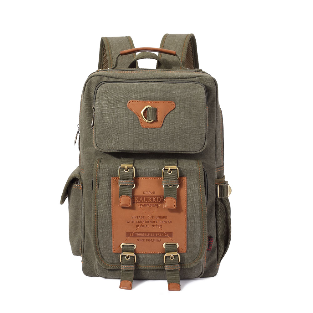 Fashion Multifunctional Casual Travel Canvas 14 inch Laptop Backpack Large Capacity School Student Rucksack Student Bag print laptop backpack 17inch bag suit for 13 14 inch laptop student school bag travel bag mountaineering good canvas laptop bag