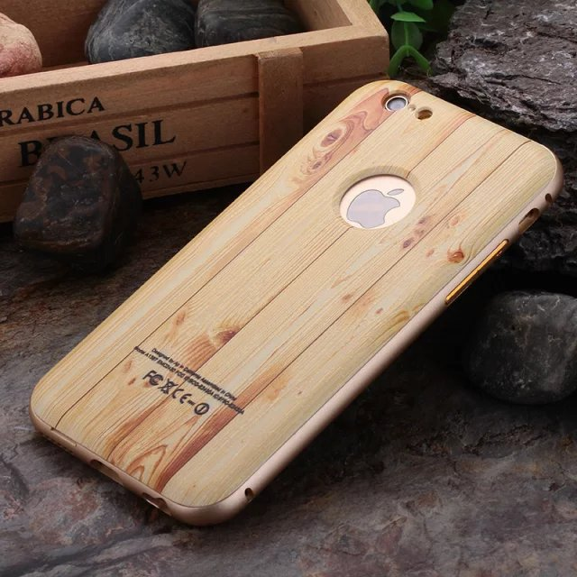 49406882c5 ipone 6 case For iphone 6 s plus case silicone cover luxury wood grain  Shockproof Slim protection shell 4.7&5.5-in Fitted Cases from Cellphones ...
