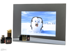 19″ waterproof Mirror TV for Bathroom + Smart Kit, Digital tuner DVB-T/T2 (Freeview), AVS190FS. Free shipping.