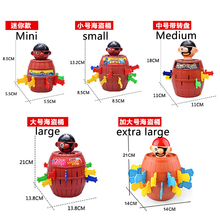 [new] 5 styles Super Pirate - Pop Up Game bucket game toys tidy children board Novelty funny toy