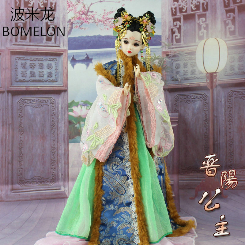 High-end Handmade Chinese Dolls Ancient Costume Tang Princess Jin-Yang Jointed Doll Articulated Kids Toys Girls Birthday Gift sitemap 391 xml