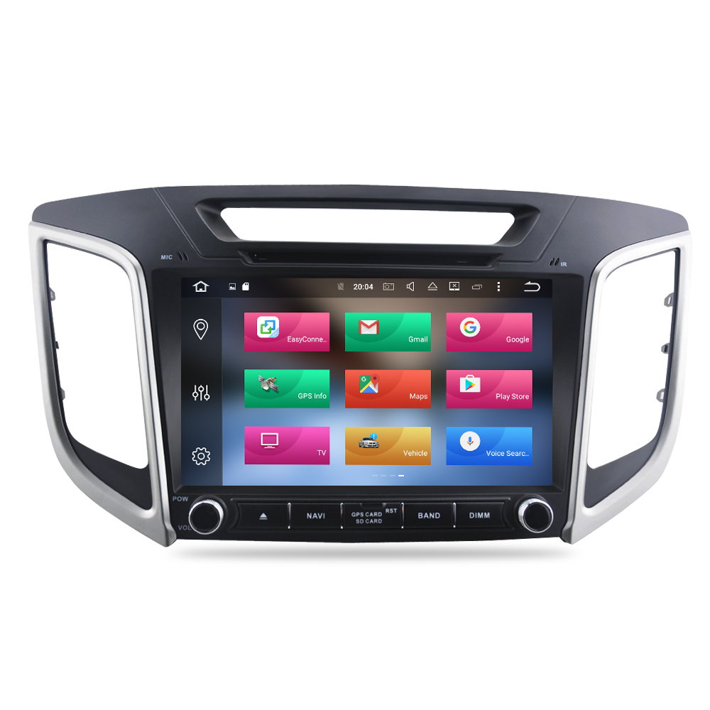 """Image 2 - 9"""" IPS Screen Android 9.0 Car DVD Player For Hyundai ix25 Creta 2014 2018 Stereo 2 Din Video GPS Navigation Radio FM Multimedia-in Car Multimedia Player from Automobiles & Motorcycles"""