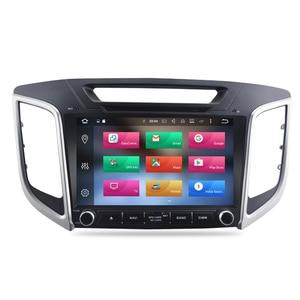 "Image 2 - 9"" IPS Screen Android 9.0 Car DVD Player For Hyundai ix25 Creta 2014 2018 Stereo 2 Din Video GPS Navigation Radio FM Multimedia"