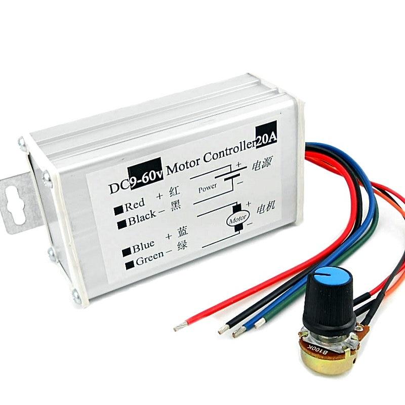 Dc motor controller best free home design idea for Dc motor controller design