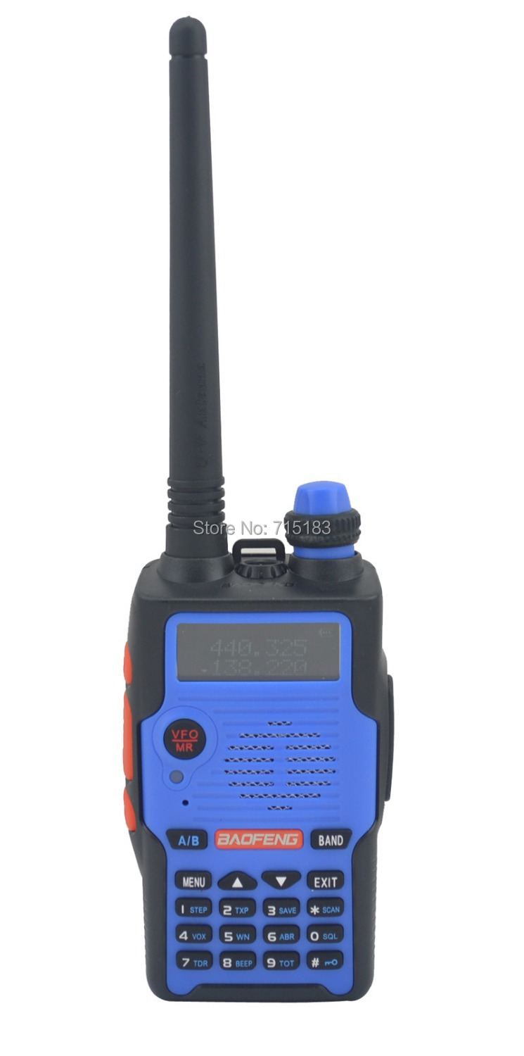 2014 New Baofeng BF-E500S VHF136-174MHz&UHF400-520MHz Dual Band 5W Walkie Talkie with Free Earphone Portable Two-way Radio
