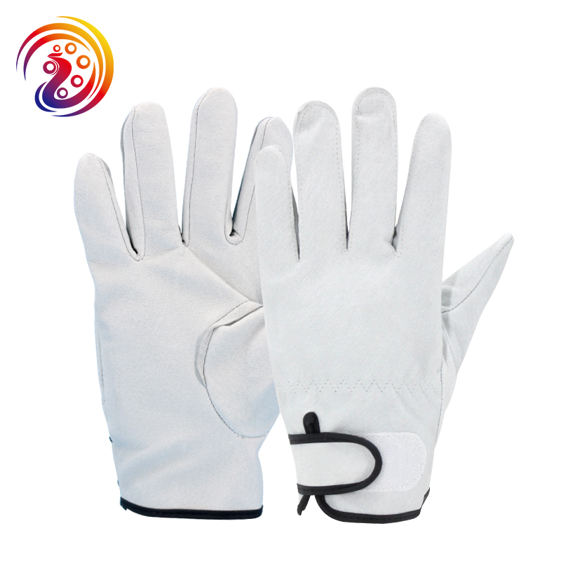 OLSON DEEPAK Pigskin Transport Carrying Factory Driving Gardening Protective Work Gloves HY13601 Free Shipping 2711 t9a5 2711 t9 series membrane for allen bradley panelview 900 series fast shipping