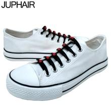 JUP Couples Hand Painted Canvas Graffiti Unisex Casual Shoes Mans Men White High  Low Shoe Black Laces Lazy Shoelace Breathable