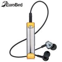 Eurobird Heavy Bass HiFi Sportowe Uszny Wireless Lavalier Mikrofon Słuchawki Stereo Bluetooth Słuchawki Bluetooth Słuchawki Niebieski Ząb