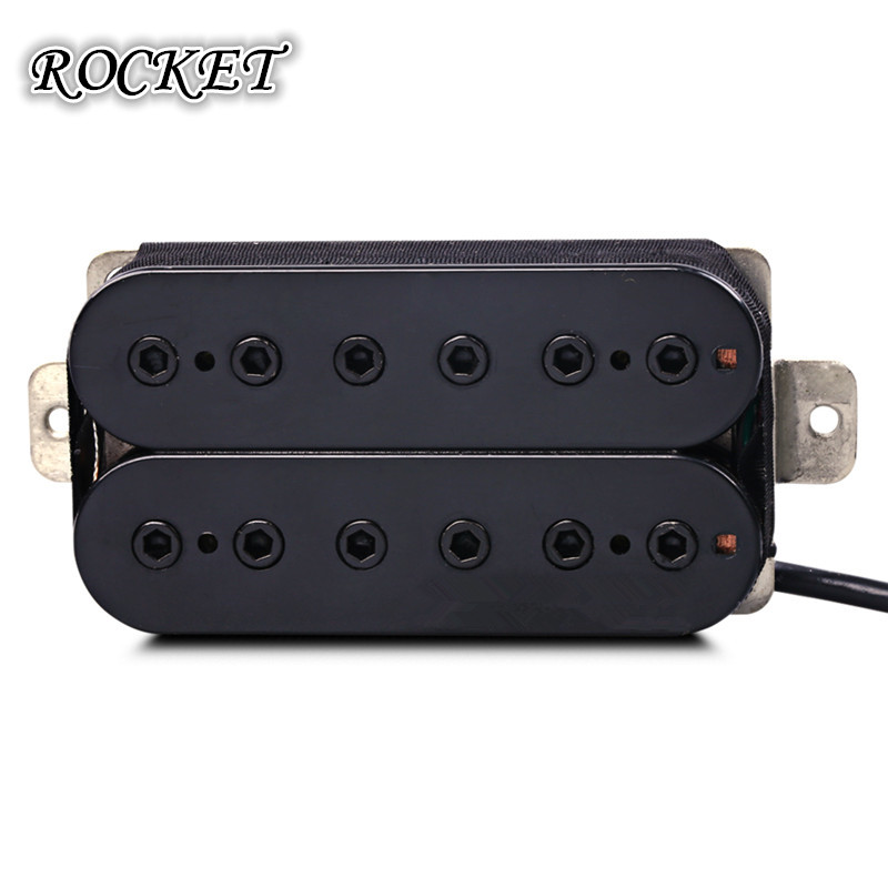 High Output Invader Humbucker Ceramic Magnet Electric Guitar  Bridge Pickup -HJ5 belcat bass pickup 5 string humbucker double coil pickup guitar parts accessories black