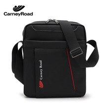 Carneyroad biznesowe torby listonoszki wodoodporna saszetka na ramię dla mężczyzn Casual teczka podróżna Crossbody bag
