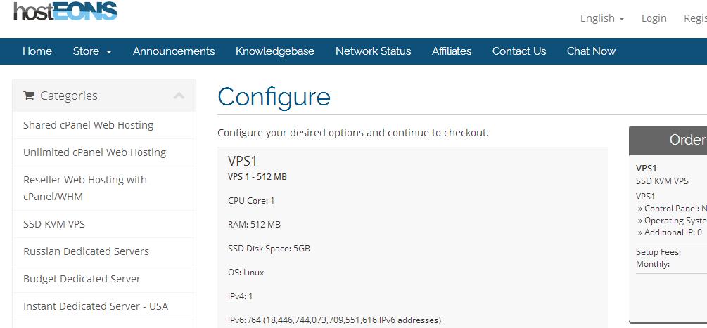 羊毛党之家 Hosteons:$2.4/月/1GB内存/30GB SSD空间/不限流量/200Mbps/OpenVZ/洛杉矶 https://yangmaodang.org