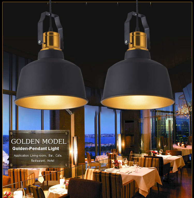Vintage loft Pendant Lights Russia Pendant Lamp Retro Hanging lighting Lampshade For Kitchen Dining Bedroom E27 plafons