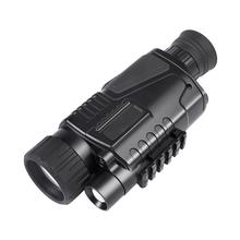 Tanie cyfrowy noktowizor monokularowy polowanie 5x powiększenie podczerwony ręczny z wzorem pojedynczego oka gogle noktowizyjne z wideo DVR tanie tanio 5X40 200m 0 4kg 200X86X56mm 3 7V 5x 3 75 + - 0 6 2m - 200m