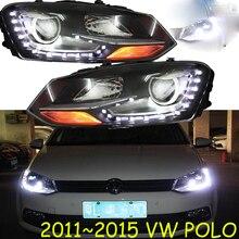 HID, 2011~, автомобильный Стайлинг для POLO фар, sharan, Golf6, routan, saviro, polo, passat, magotan, POLO Головной фонарь
