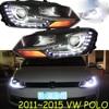 HID 2011 2015 Car Styling For POLO Headlight Sharan Golf6 Routan Saveiro Polo Passat Magotan POLO
