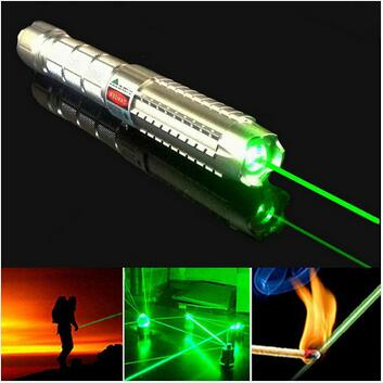 JSHFEI Green Laser Pointer With 5 Star Cap Real  Laser Pen Focusable Burning Match Long Range Ray 10000m WHOLESALE LAZER