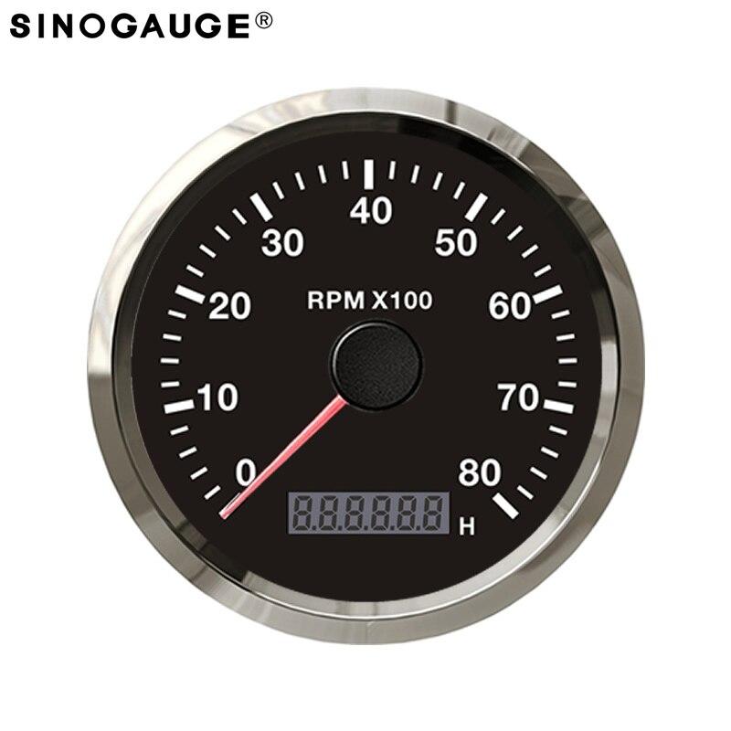 Здесь продается  2018 Free Shipping 8000RPM tachometer RPM meter for Motorcycle Motorbike REV Counter  Автомобили и Мотоциклы