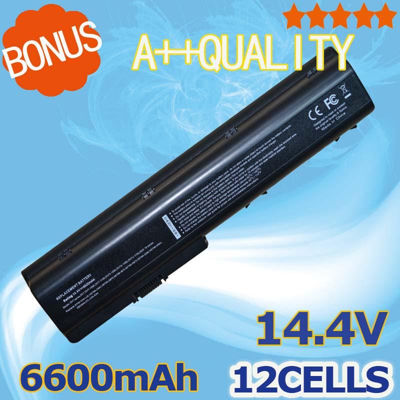12 cellules 6600mAH batterie d'ordinateur portable pour HP Pavilion dv7t dv7t-1000 dv7z dv8 dv8-1000 dv8t dv8t-1000 dv7-1040ec dv7-1070ef dv7-1030eb