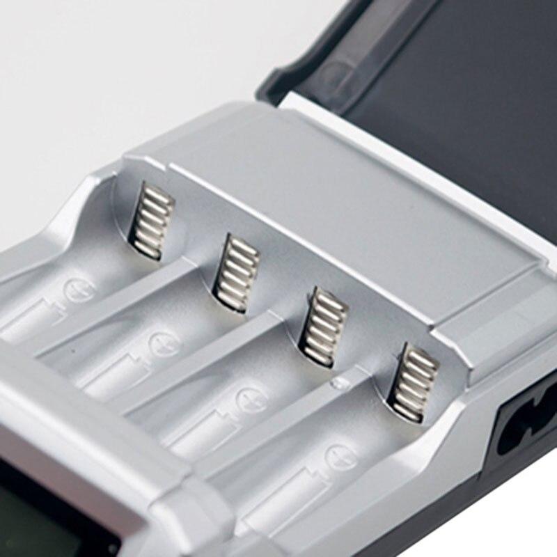 Doitop ЖК-дисплей Дисплей 4 слота Smart Батарея Зарядное устройство для AA/AAA NiCd NiMH Аккумуляторы интеллектуальные Батареи Зарядное устройство A3