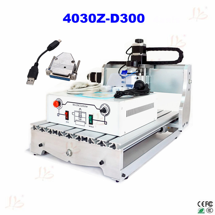 no tax to EU CNC milling machine CNC ROUTER 4030 Z-D300 mini CNC engraving machine with USB adpter for DIY cnc router engraving machine diy 2520 4axis engraving drilling and milling machine with rotary axis no tax to ru