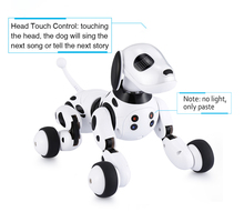 Top Quality Intelligent RC Smart Dog Toy DIMEI 9007A Sing Dance Walking Remote Control Robot Dog Pet Kids Toy Gifts