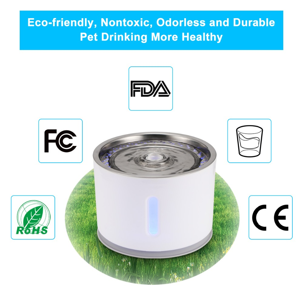 Automatic Electric Drinking Fountain 44