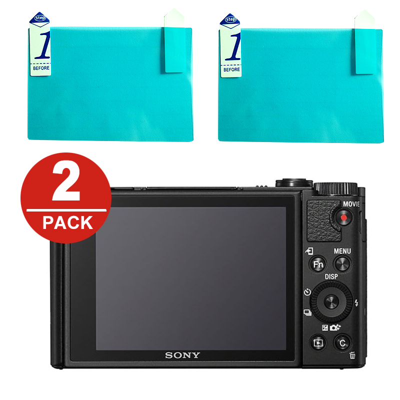 US $1 86 6% OFF|2x LCD Screen Protector Protection for Sony RX100 II III IV  V VA VI RX10 RX1 RX1R HX90V WX500 HX99 WX800 WX350 WX300 HX400 HX300-in