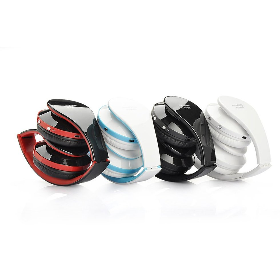 5PCS Sport Bluetooth Earphone Professional Foldable Wireless Bluetooth Headphone For DVD MP3 nx 8252 professional foldable wireless bluetooth headphone super stereo bass effect portable headset for dvd mp3
