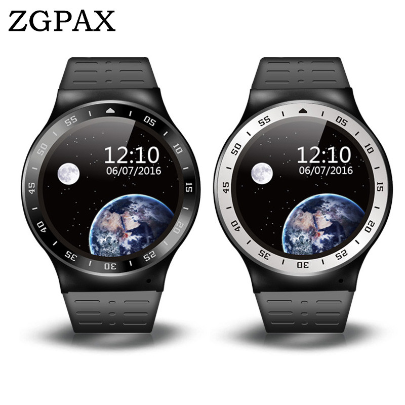 ZGPAX S99A 3G Smartwatch Phone 1.33 inch Android5.1 MTK6580 Quad Core 1.0GHz 8GB ROM 2.0MP Camera WiFi Bluetooth GPS Smart Watch smart watch y3 1 39 inch android 5 1 phone mtk6580 1 3ghz quad core 4gb rom pedometer bluetooth smartwatch wifi 3g smartwatch