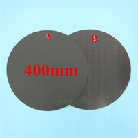 400mm Round Magnetic adhesive Print Bed Tape Print Sticker Build Plate Tape FlexPlate A+B for DIY Kossel/Delta 3D Printer