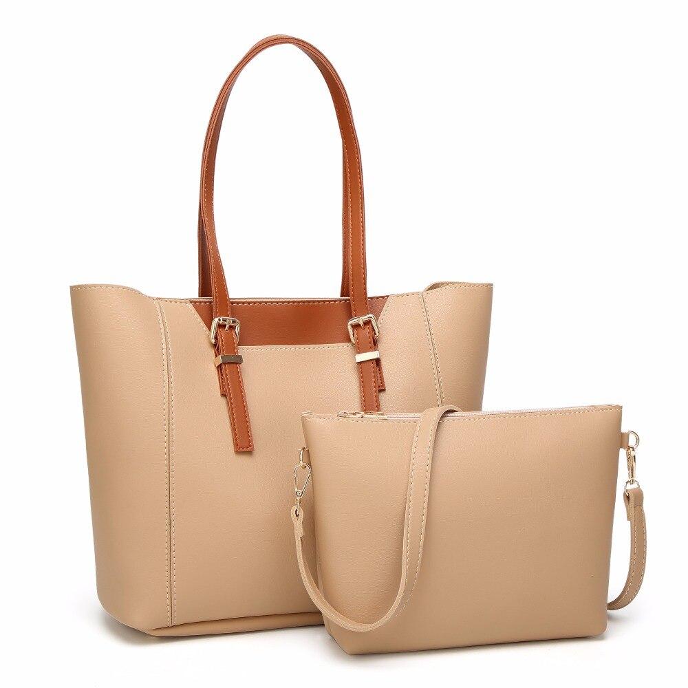 Новая мода 2 шт./компл. известный бренд Для женщин сумки большой Ёмкость женская через плечо Портфели SAC основной бренд Сумки