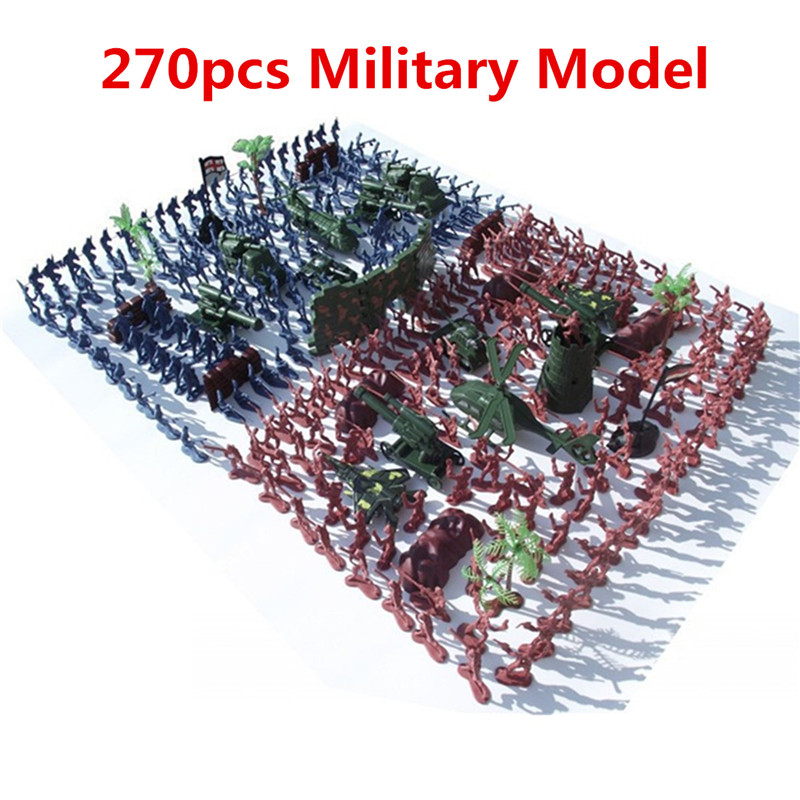 270 PCS/set Military Toy Soldiers Army Men Green Red Action Figures Soldiers Tank Aircraft Toys Hobbies For Boys Children Gifts 2016 new arrival women s luxury jacket short paragraph korean version nagymaros collar female was thin tide coat mz575 page 4 page 2