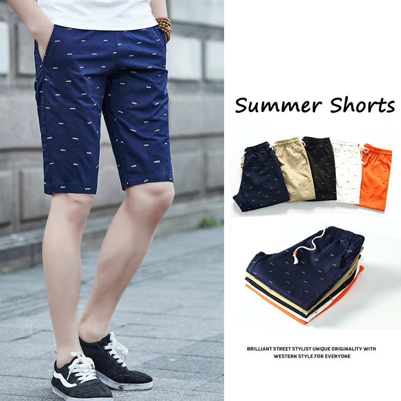 2019 Mens Shorts Summer Clothing Casual Cargo Shorts Cotton Male Beach Short Pants Mens Plus Size Quick Drying Boardshorts 5XL