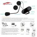 Freedconn TCOM-OS Bluetooth Intercom Headphones Wireless Earphone 100M Intercom Distance Waterproof Headsets Hands-free with Mic