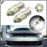 Exclusive Designed Xenon White 30 SMD 3030 1156 7506 S25 7506 LED Bulbs For MK6