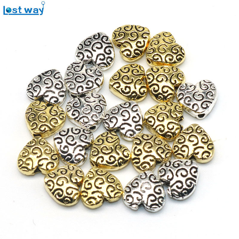 Tibetan Antique Silver Butterfly Spacer Beads 8mm Double-sided 25//50//100 NEW