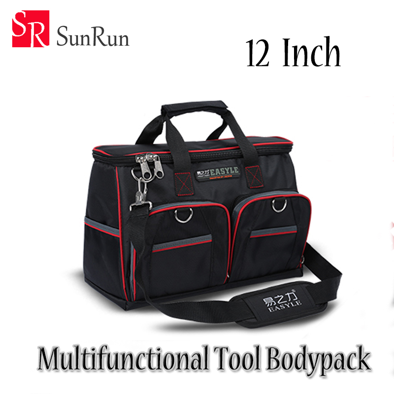 YZL 12 Tool Bags 600D Close Top Wide Mouth Electrical Bags Fashion and Functional With gift cropped wide sleeve top