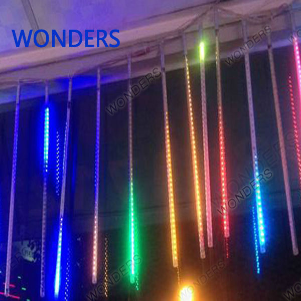 New 56cm Meteor Shower Rain Tubes Christmas Decorative String Light Led Lamp 100-240V EU US Plug Holiday Light FREE SHIPPING