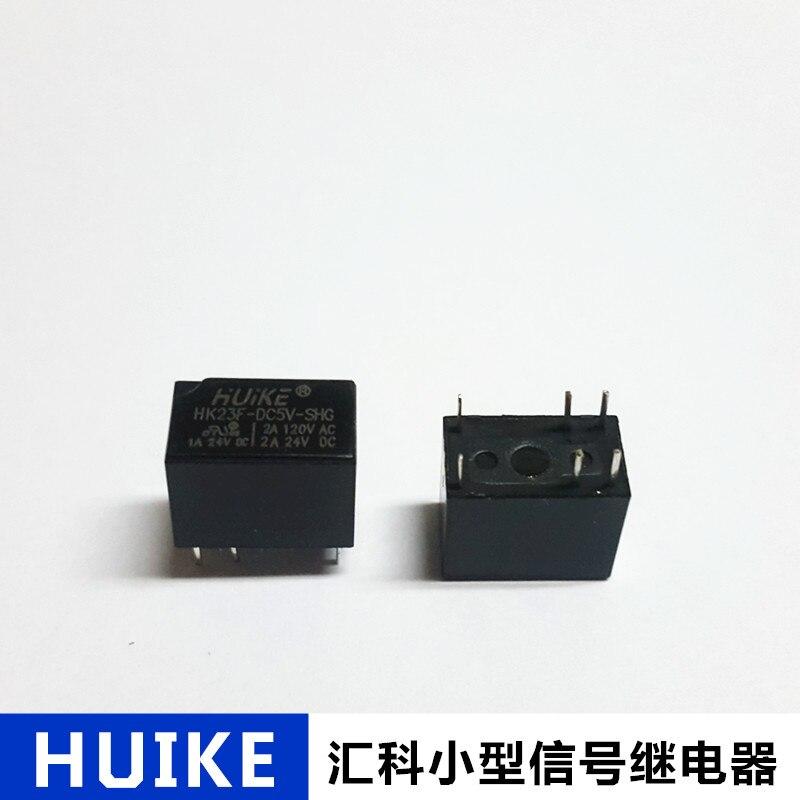 5 PCS Original HK23F-DC5V-SHG HK23F-DC5V HK23F 6-foot communications relay