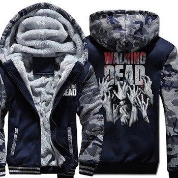 The Walking Dead sweatshirts hoodies 2018 hot spring winter thicken hoodie hip hop brand clothing harajuku sweatshirt tracksuits hot sale mens clothing 2018 dragon ball 3d hoodies hip hop unisex sweatshirts harajuku men s coat winter thick masculine jackets