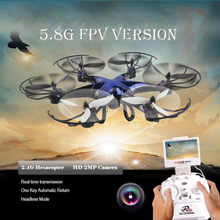 2016 New large RC Drone FX-RC126 2.4G 4CH 6 Axis Gyro 5.8G FPV RC Quadcopter Real-time Transmission with HD Camera vs w609-8 X8W