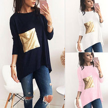 HooltPrinc 2017 new arrival tshirt women Tees long sleeve t shirt Polyester casual fashion t-shirt free shipping top tee