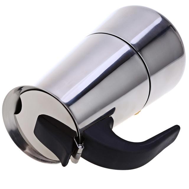 Moka Coffee Maker Mocha Espresso Latte stainless steel utensils