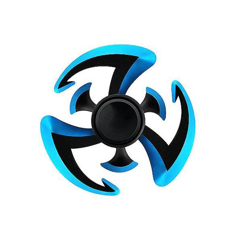 2017 New Naruto Ninja Fidgets Spinner Edc Hand Spiner Zinc Alloy