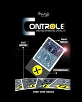 CONTROLE Gimmick Online Instruct By Mickael Chatelain Card Magic Tricks Close Up Illusion Fun Street Magia