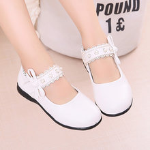 Mary Janes Shoes For Kids Girls Princess Shoes Party Wedding Shoes White  Children Dress Shoes For be424d9adb1c