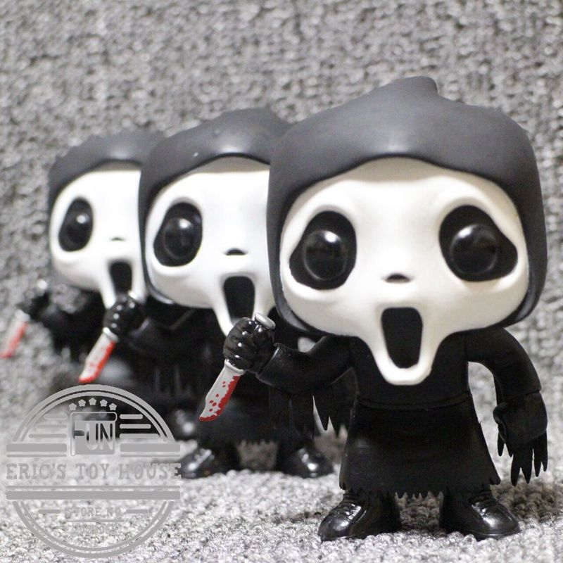 Imperfect Original Funko Pop Second-hand Horror: Scream - Ghostface Vinyl Action Figure Collectible Model Toy Cheap No Box