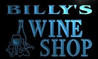 x0073-tm Billy's Wine Shop Custom Personalized Name Neon Sign Wholesale Dropshipping On/Off Switch 7 Colors DHL
