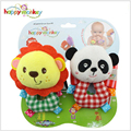 0-3 months baby supplies stereo animal rattan wrist strap watch with toys